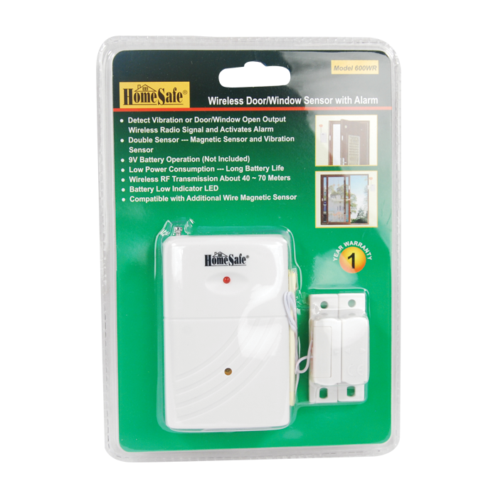 Wireless Door and Window Sensor Home Alarm