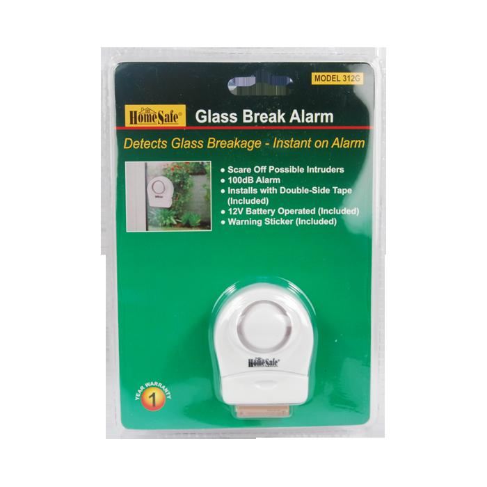 Window Glass Break Detector Alarm