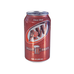 A & W Rootbeer Can Diversion Safe
