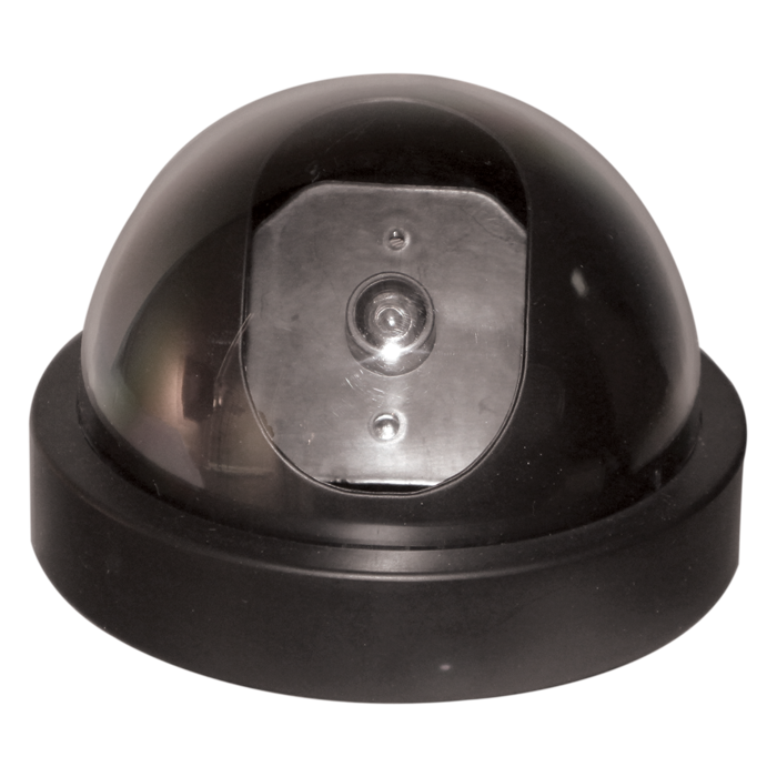 Dome Fake Camera with Flashing LED