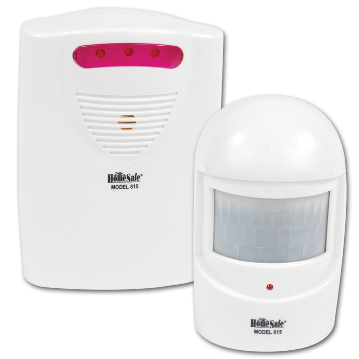 Wireless Safety Alarm & Driveway Patrol Alarm