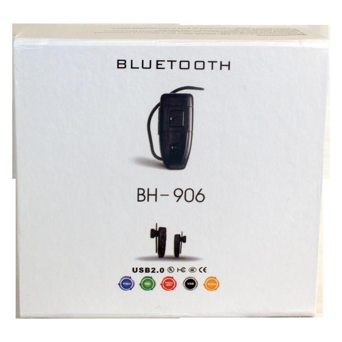 Bluetooth Earpiece Color Hidden Camera With Built In DVR