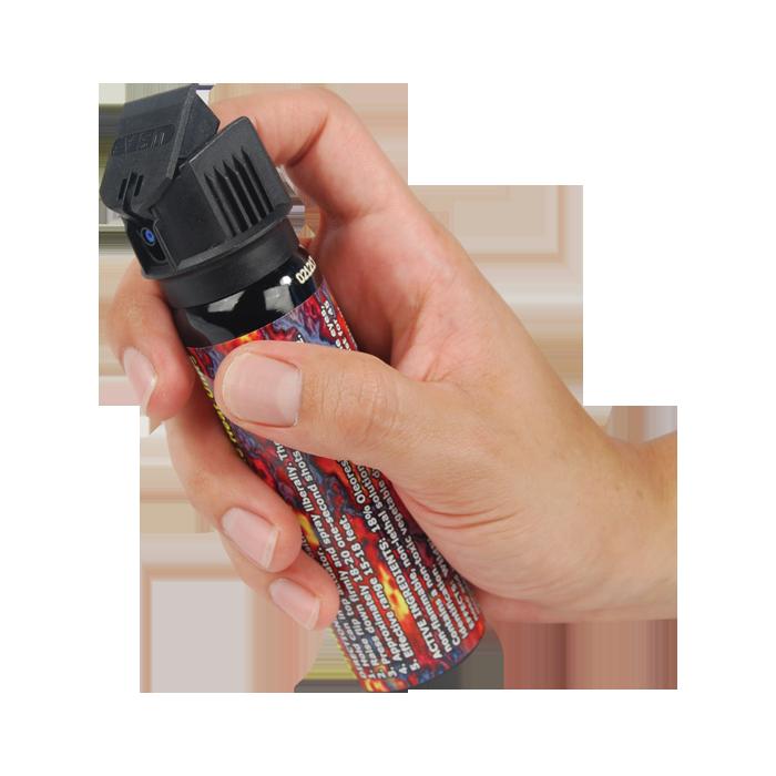 WildFire Pepper Spray Stream w/ Flip Top Actuator