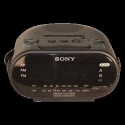 Alarm Clock Color Hidden Camera with Built In DVR