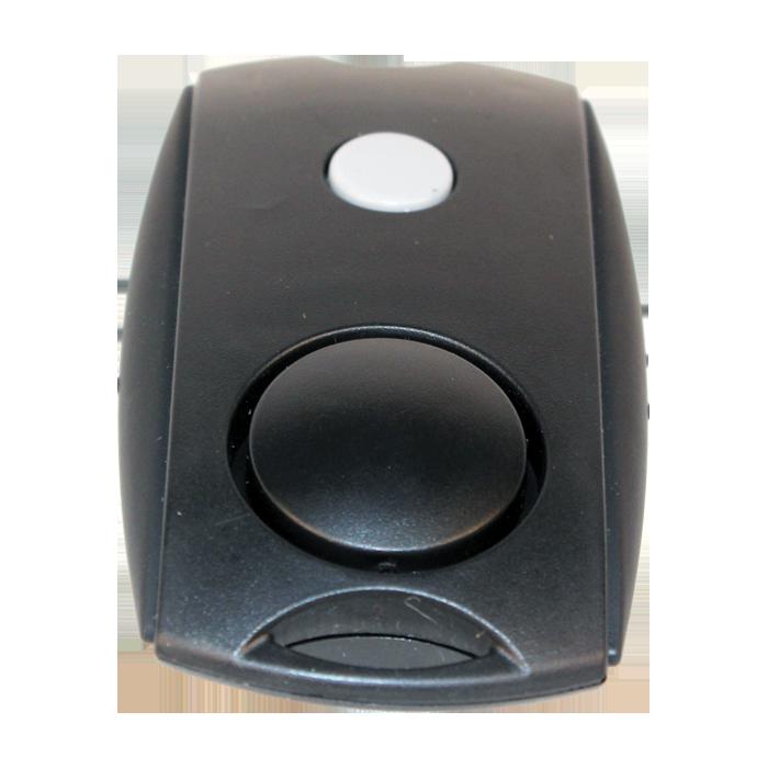 Mini 120 dB Personal Alarm with LED Flashlight