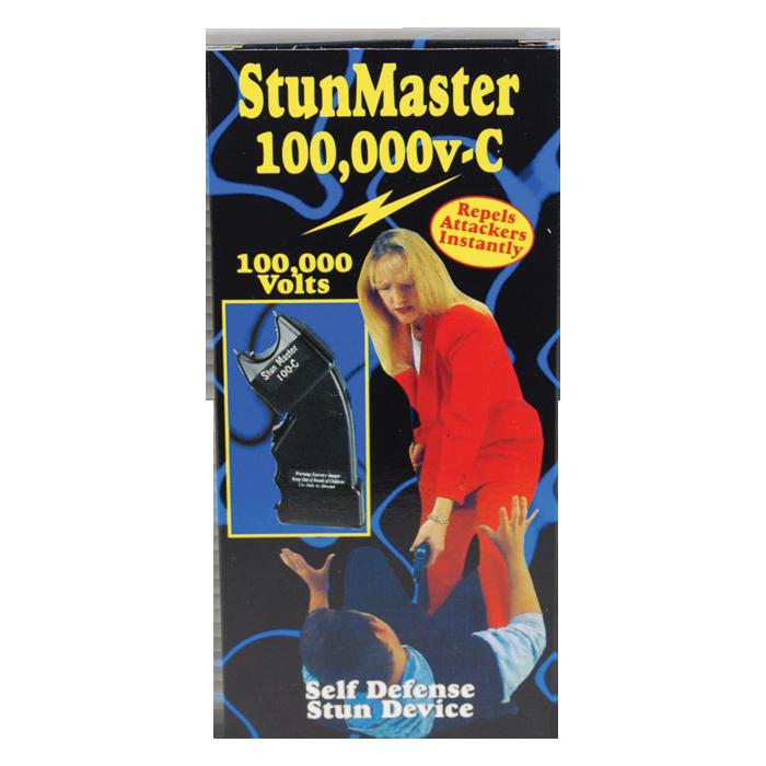 Stun Master 100,000 Volts Stun Gun (Curved)